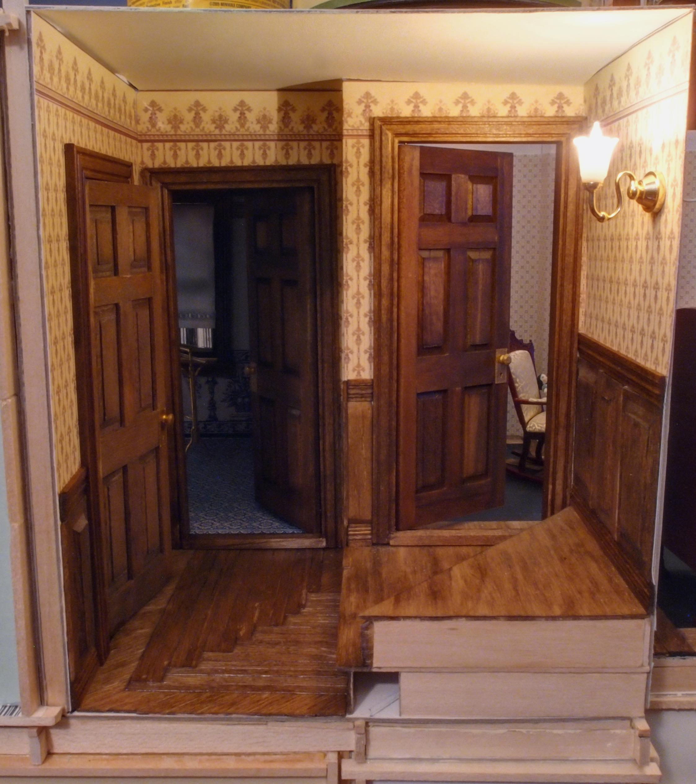 Victorian Hallway: Upstairs Hallway