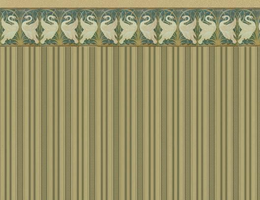 Swan wallpaper green lighterb