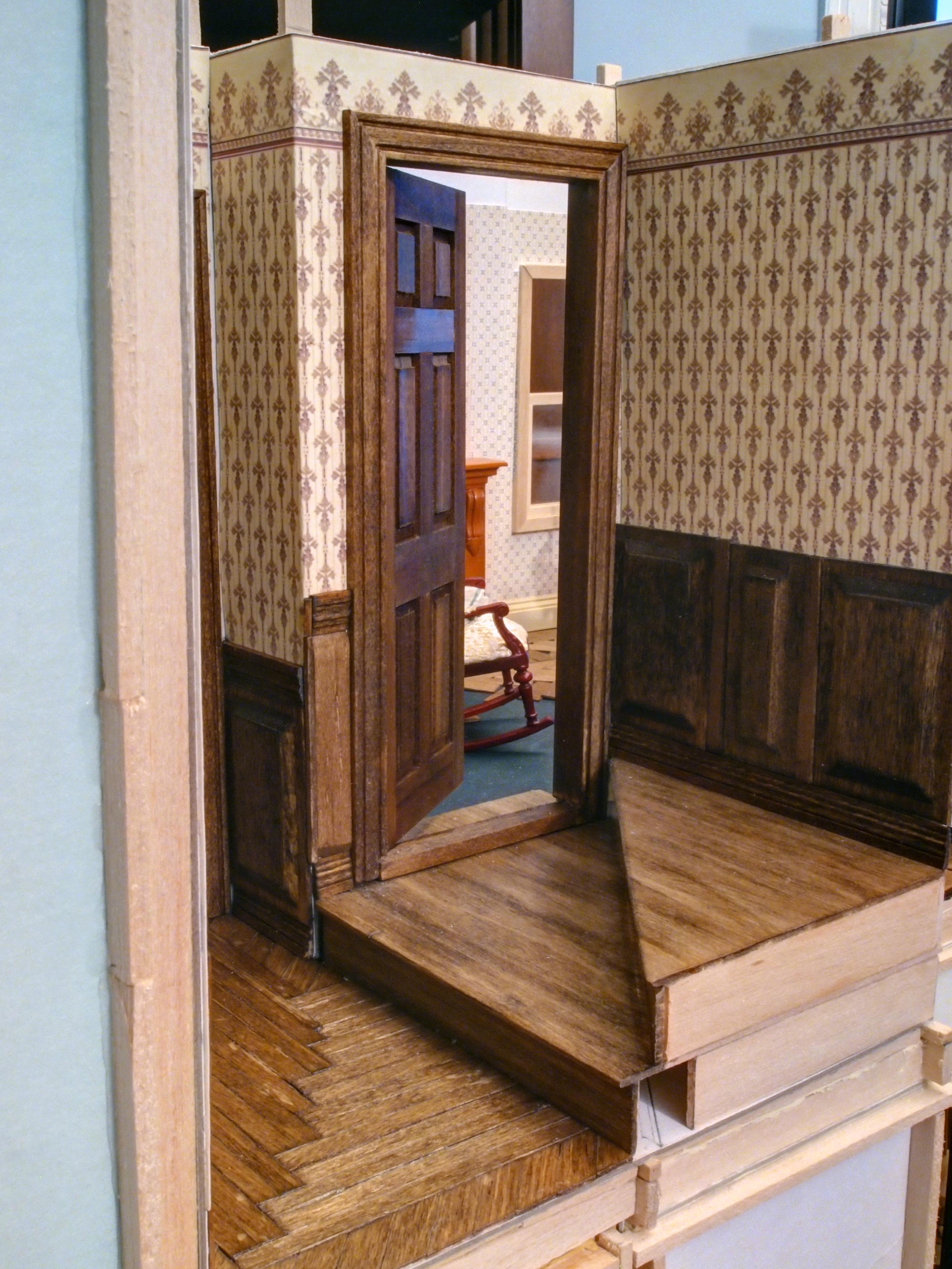 Hallway Wainscoting Victorian Mini