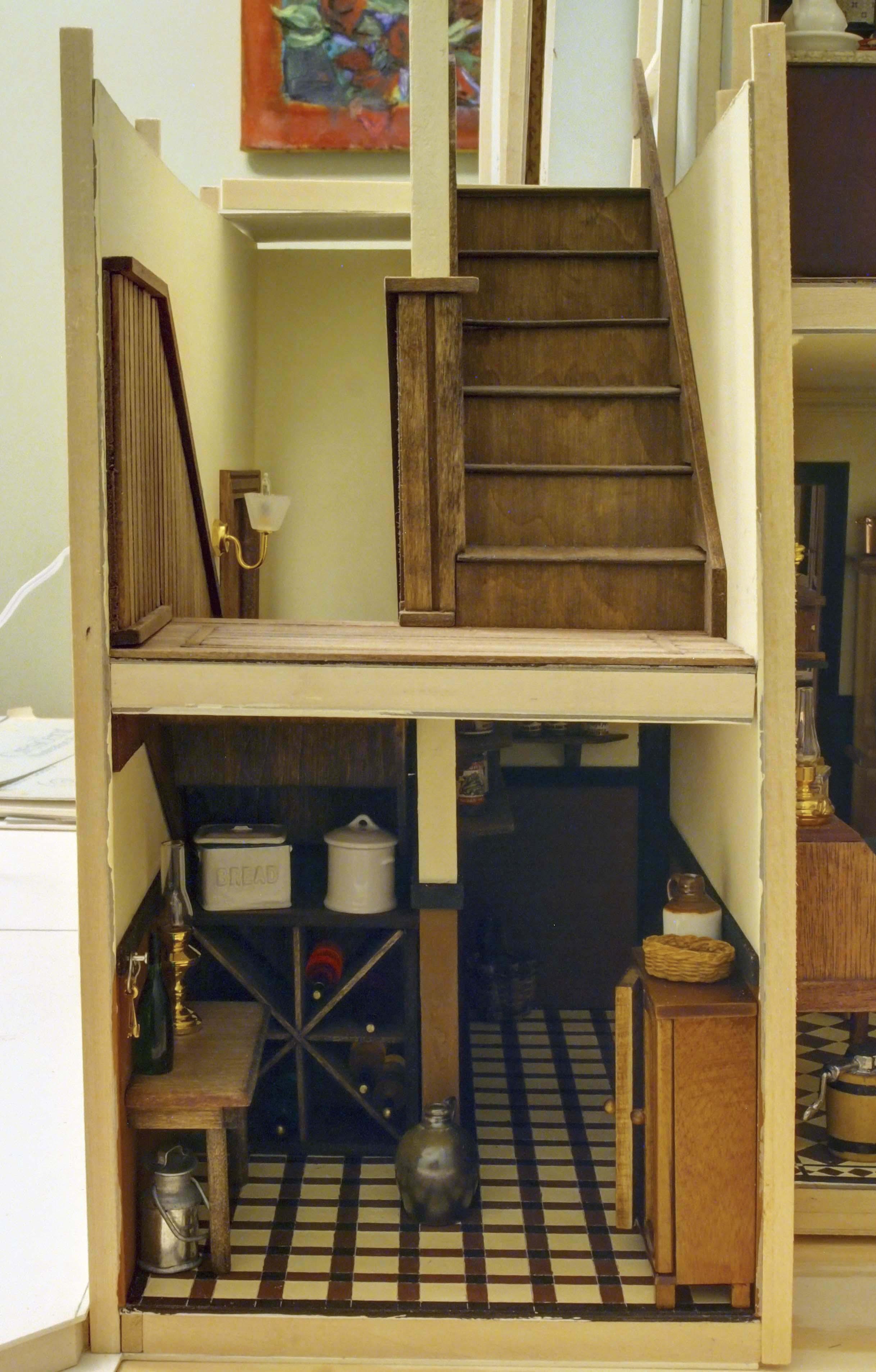 Back Stairs / Pantry. OLYMPUS DIGITAL CAMERA